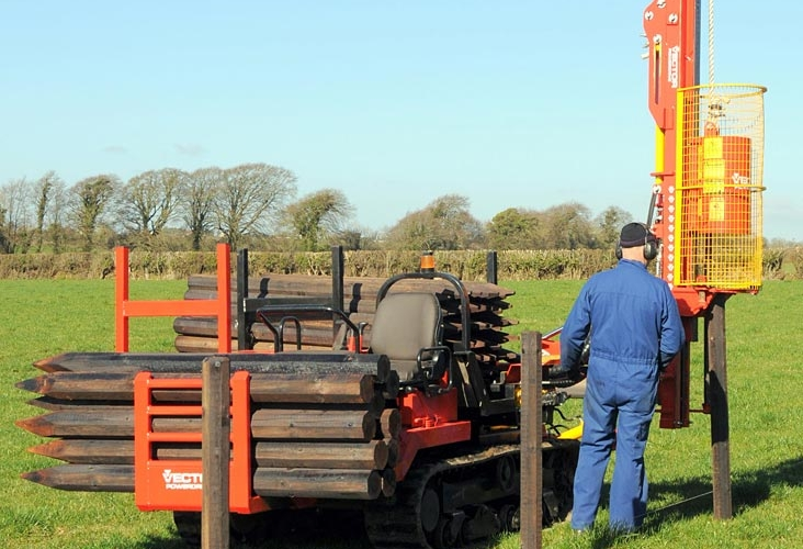 Danger to buried oil pipelines when ditching & fencing